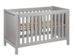 Quax Stripes ledikant 60x120 cm griffin grey