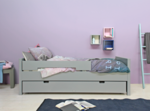 bopita pure grey jonne bed