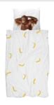 Snurk dekbedovertrek 1-persoons 140 x 200 cm Banana Monkey