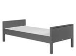 bopita deep grey basis bed combiflex