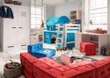 infanskids thijs turquoise tenten bed set