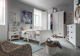 Infanskids Solvita bed 90x200 wit
