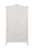 Infanskids Klaudia 2 deurs kledingkast wit