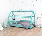 villa per bambini livio bed 70x160 turquiose
