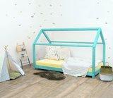 Villa per Bambini Livio huis bed 70x160 hout turquoise_