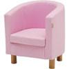 hoppe kids fauteuil licht roze