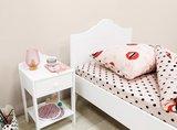 Bopita Evi nachtkastje wit