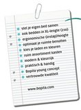 Bopita 2 deurs kast + 2 laden vlak Mix & Match XL wit_