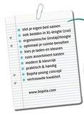 Bopita 2 deurs kast + 2 laden groef Mix & Match XL wit_
