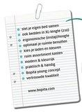 Bopita 3 deurs kast + 3 laden groef Mix & Match XL wit_