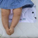ABZ Witte Panter 70x140x11 HR 30 matras koudschuim Tencell hoes_