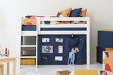 Hoppekids Creator orion blue bedtent 70x160 halfhoogslaper _