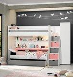 Neo bureau groot wit roze_