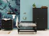 Bopita Cloë 3-delige babykamer 3-deurs zwart - goud_