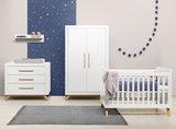 Bopita Fenna 3-delige babykamer wit - naturel_