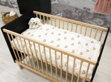 Bopita Floris 3-delige babykamer zwart - naturel_