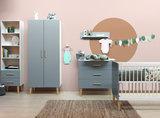 Bopita Emma 3-delige babykamer grijs - naturel_