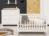 Bopita Thijn 2-delige babykamer wit_