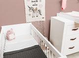 Bopita Lucca 2-delige babykamer wit_