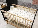 Bopita Floris 2-delige babykamer zwart - naturel_
