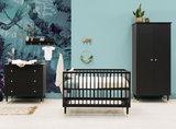 Bopita Cloë 3-delige babykamer 2-deurs zwart - goud_