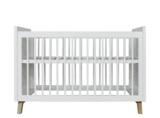 Bopita Lynn design ledikant 60x120 wit -naturel_