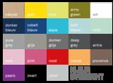 Bopita mix & match wandbakje pure grey_