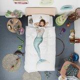 Snurk dekbedovertrek 1-persoons 140x200 mermaid_
