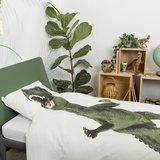 Snurk dekbedovertrek 1-persoons 140x200 Dinosaurus Rex _