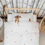 Snurk dekbedovertrek 1-persoons 140x200 Furry Friends_