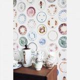 studio ditte porselein behang kleurrijk
