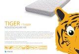 abz tijger matras 70x150x11