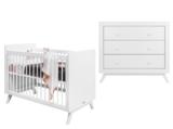 Bopita Fiore 2-delige babykamer wit_