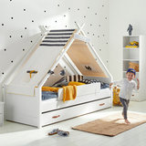 cool kids superhero tipi bed
