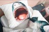 Snurk dekbedovertrek 1-persoons 140 x 200 cm  Shark