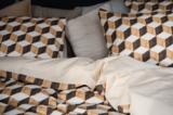 Snurk dekbedovertrek twijfelaar 200 x 200 wooden cubes_