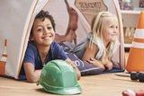 Hoppekids Construction 50x50 kussen set_
