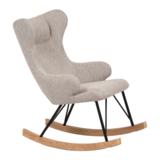 Rocking Adult Chair De Luxe - Sand Grey