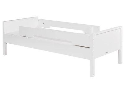 Bopita combiflex basisbed 90x200 + 2x uitvalbescherming wit