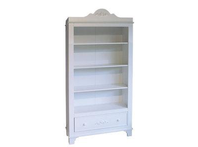 Bopita Romantic boekenkast met lade wit