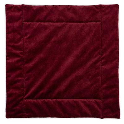 Kidsdepot Matty 80x80 cm boxkleed wijn rood
