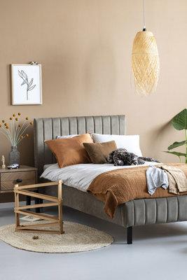 Coming kids Luno 90x200 luxe gestoffeerd bed