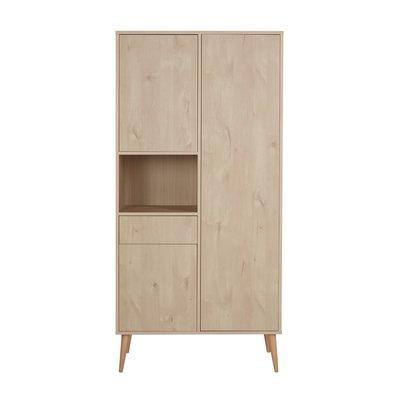 Quax Cocoon 3 deurs kledingkast Natural oak