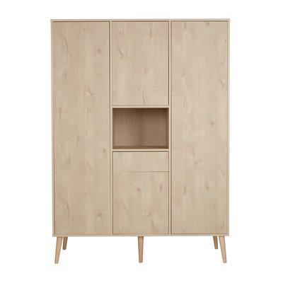 Quax Cocoon 4 deurs kledingkast Natural oak