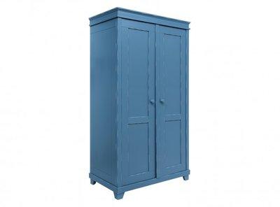 Bopita Country 2 deurs kledingkast XL vintage blue