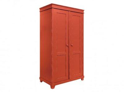 Bopita Country 2 deurs kledingkast XL vintage red