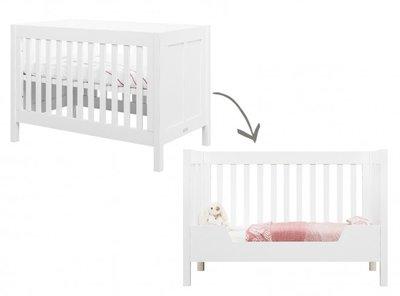 Bopita Country bedbank 60x120 vintage white