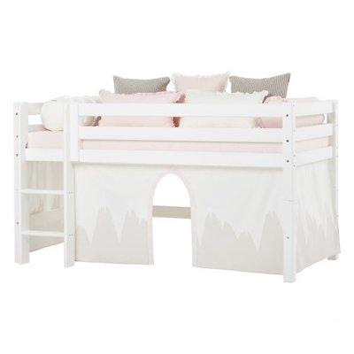 Hoppekids Winter Wonderland bedtent 90x200 halfhoogslaper