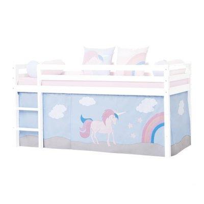 Hoppekids Unicorn bedtent 90x200 halfhoogslaper