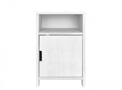 Bopita Basic wood ladeblok 1 deur white wash